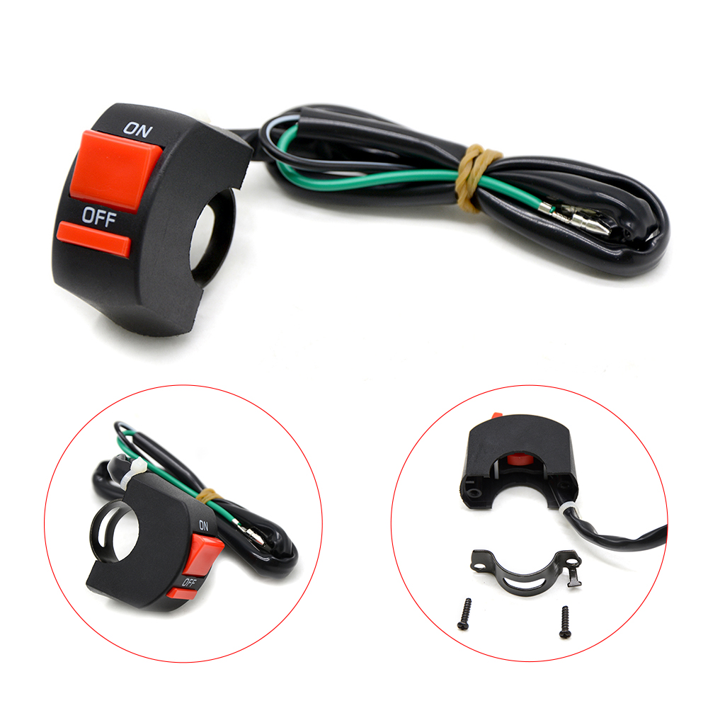 For SUZUKI GSX-S750 GSX-S GSX 650F Moto Headlight Hazard Light Bike Scooter Led Electric ON/OFF Button Light ...