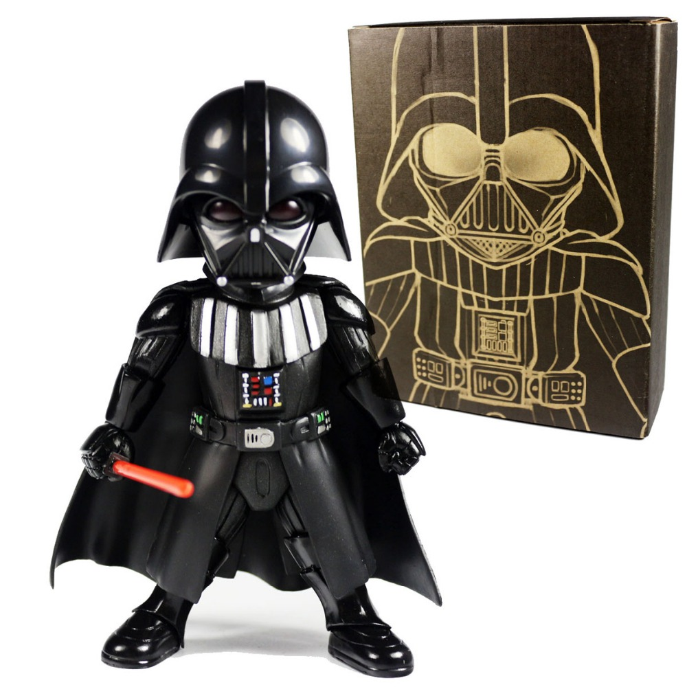 New MOVIE Darth Vader Eyes Light Up & Action Function 5.5 Figure Free Shipping
