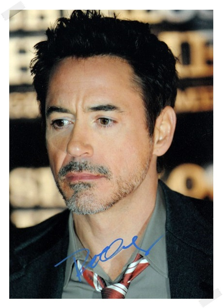 signed Robert Downey Jr.  autographed  original photo  7 inches freeshipping 5 versions 072017 signed cnblue jung yong hwa autographed photo do disturb 4 6 inches freeshipping 072017 01
