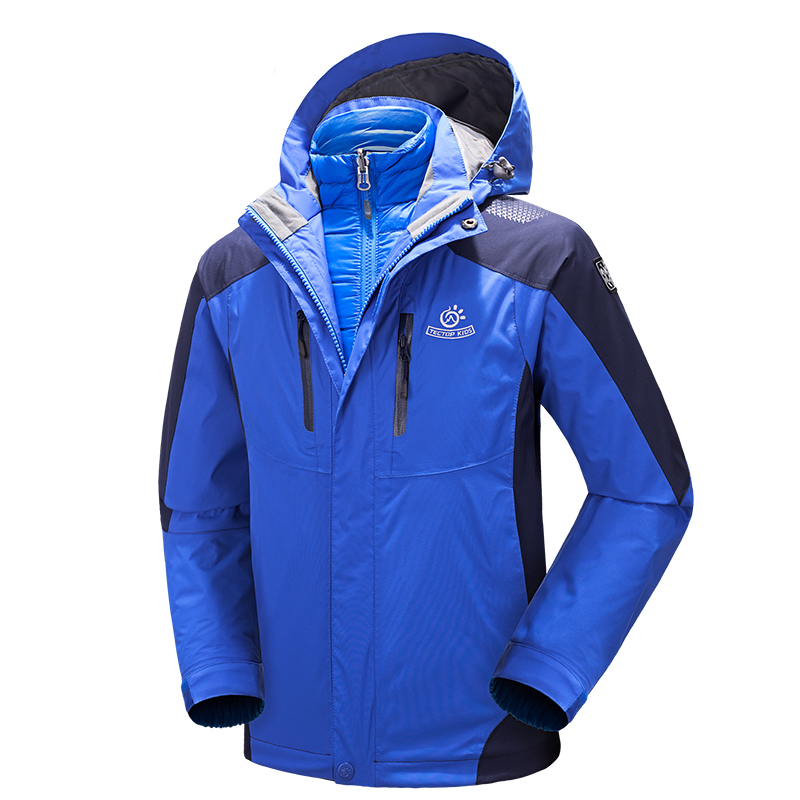 90% Down Inner Rose Blue Color Boys Girls Waterproof Windbreaker Outing Camping Outerwear Coats  Childrens Hiking Down Jackets90% Down Inner Rose Blue Color Boys Girls Waterproof Windbreaker Outing Camping Outerwear Coats  Childrens Hiking Down Jackets