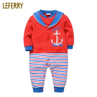 2018 New High Quality Baby Boys Clothes Long Sleeves Baby Rompers 100 Cotton Newborn Infant Clothing