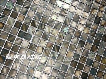 100% Gefärbt Farbe Perlmutt Mosaik-fliesen Für Innen Haus Dekoration Chip Größe 15x15mm 22 Platz Feet/lot Wandfliese