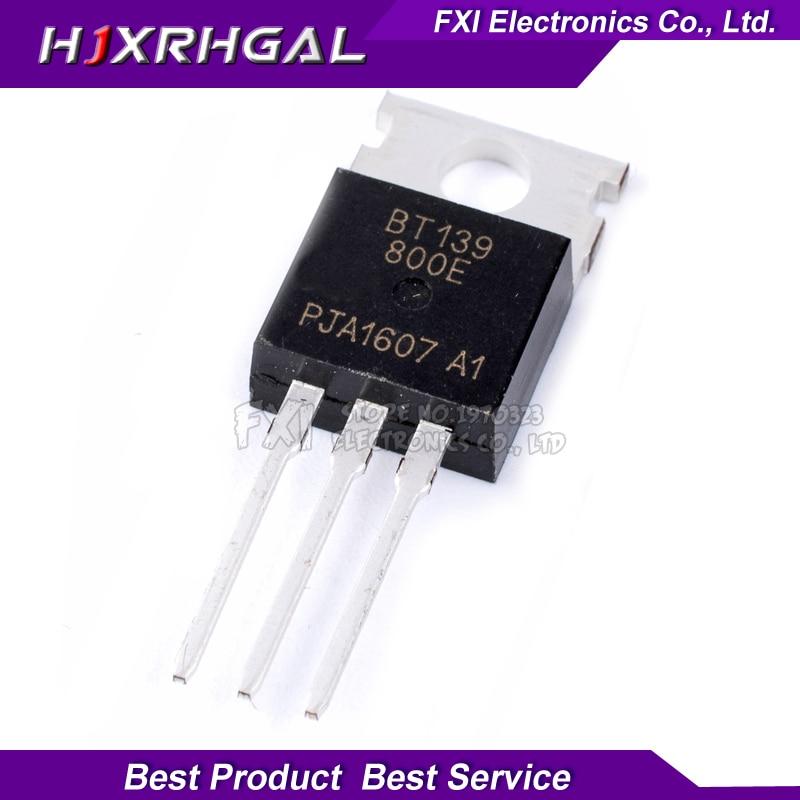 10PCS BT139-800E BT139-800 TO220 TO-220 BT139 New Original