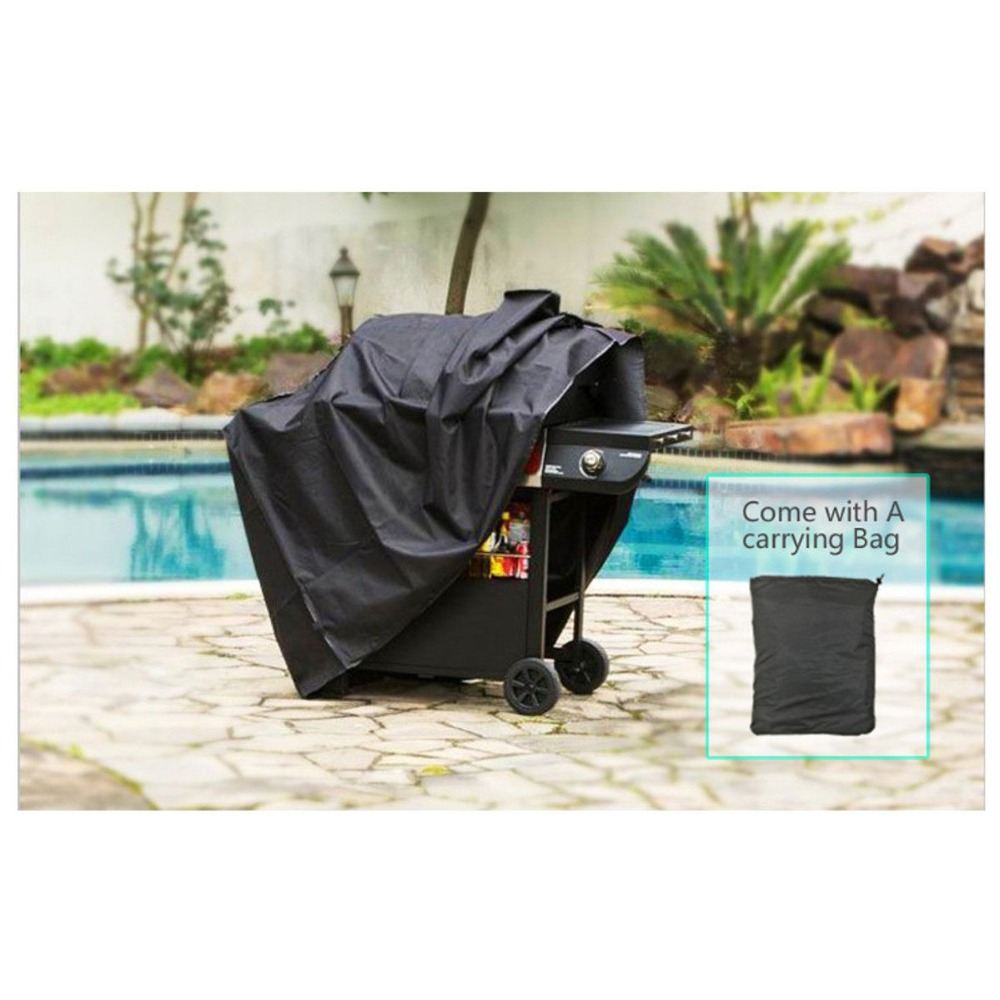 Image 5 - Large Size Outdoor BBQ Grill Covers Gas Heavy Duty for Home Patio Garden Storage Waterproof Barbecue Grill Cover BBQ Accessorie-in All-Purpose Covers from Home & Garden