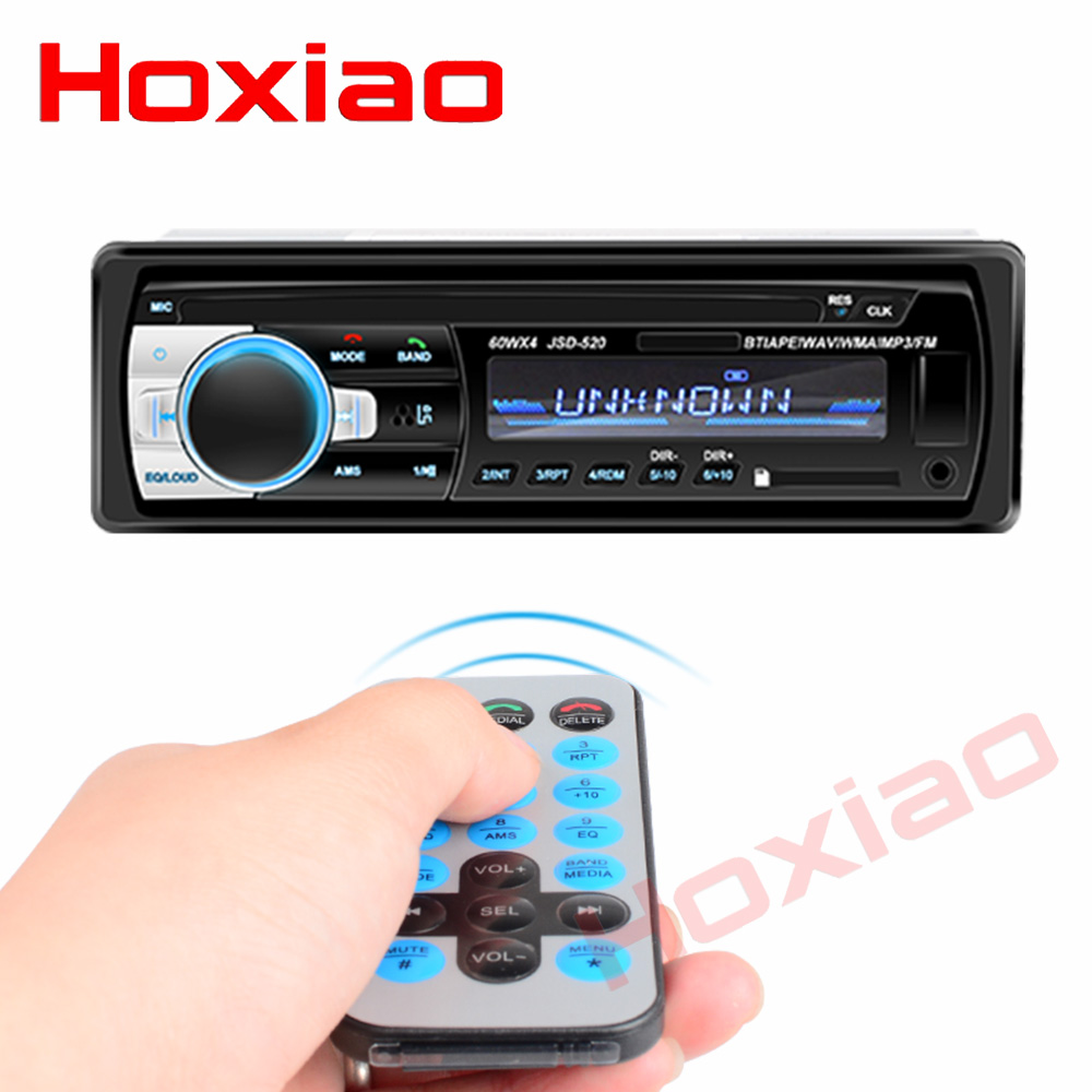 Image 2 - Bluetooth Autoradio 12V Car Stereo Radio FM Aux IN Input Receiver SD USB In dash 1 din Car MP3 Multimedia Player-in Car Radios from Automobiles & Motorcycles
