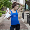 Girl  Vest Summer Women Tank Tops Fitness  Sleeveless Vest Quick Dry  Loose  Bra With Padded Y25100