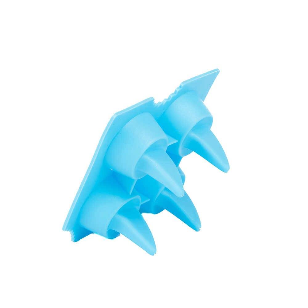 Barbatana de tubarão Cubo de Gelo de Silicone Molde de Gelo Criativo Molde Da Máquina De Gelo Creme de Decoração Ferramentas de Cozimento Do Bolo Molde Geléia Verão Quente venda