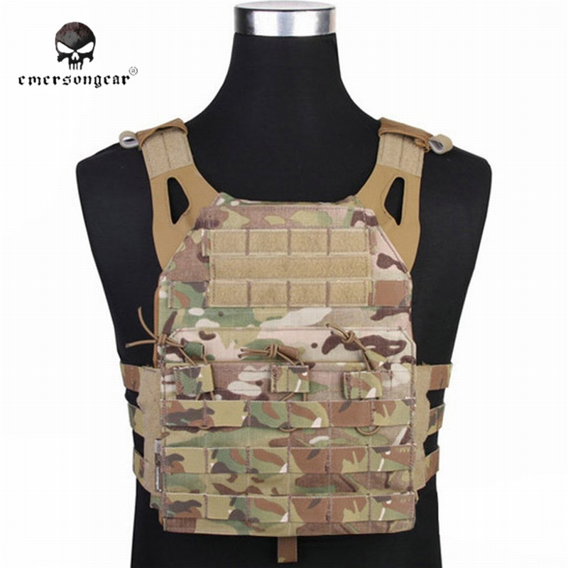 Emerson Tactical Molle JPC Vest Simplified Version Plate Carrier Vest Military Hunting Vests Airsoftsports Paintball Gear велосипед forward arsenal 2 0 2014