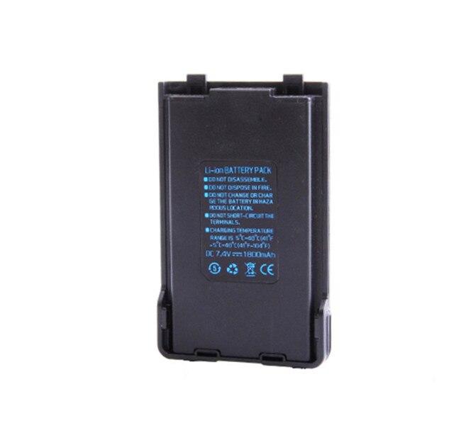 Baofeng uvb2 Plus La Batterie 4800 mah 7.4 V rechargerble batterie pour radio bidirectionnelle bao feng UV-b2 UV-b2HX pofung marcher walkie