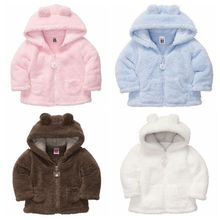 Baby Coat ! 2019 Autumn Winter Hooded Kids Outerwear Fashion Fleece Bab