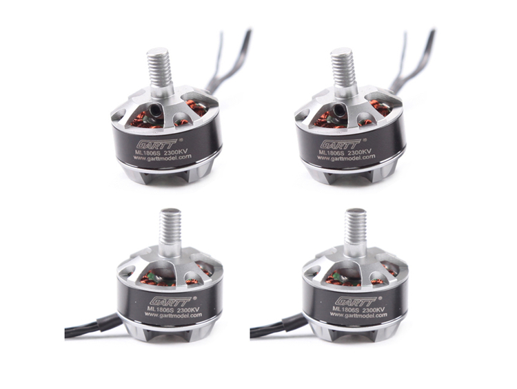 Gleagle`s 2 CW 2CCW ML 1806 S 2300KV Brushless Motor For QAV 180 210 250 Quadcopter Multicopter RC Drone 4set lot original sunnysky x2206s 2100kv 2380kv outrunner brushless motor cw ccw x2206s for qav250 330 rc multicopter