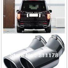 2 шт. из нержавеющей стали глушитель выхлопной трубы задний комплект для выхлопной системы для Range Rover Sport дизельная версия