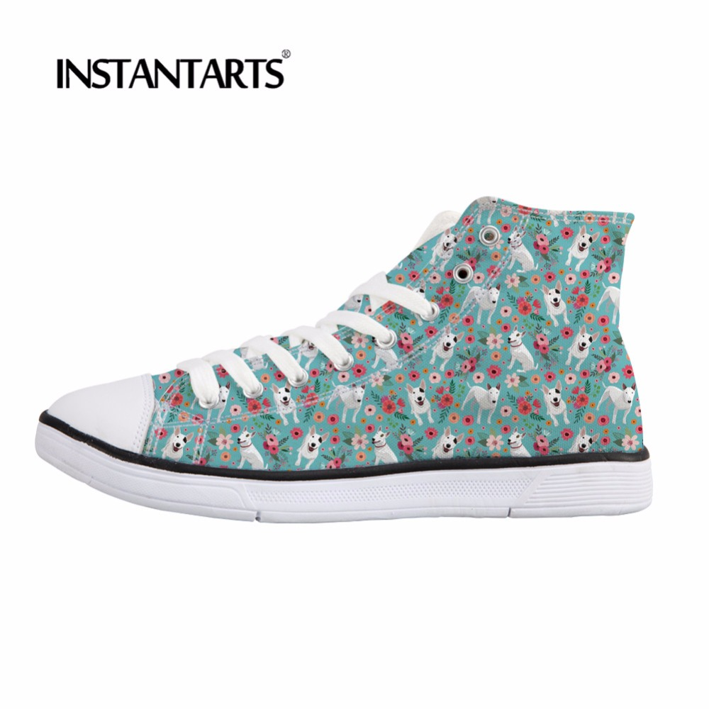 11b1a81b773 Pug Pet High INSTNTARTS Shoes Casual Cute Shoes Top Print Bull ...