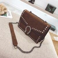 Vintage Leather Handbags Women Crossbody Shoulder Messenger Bags Famous Brands Luxury Designer For 2018 Bolsa Feminina