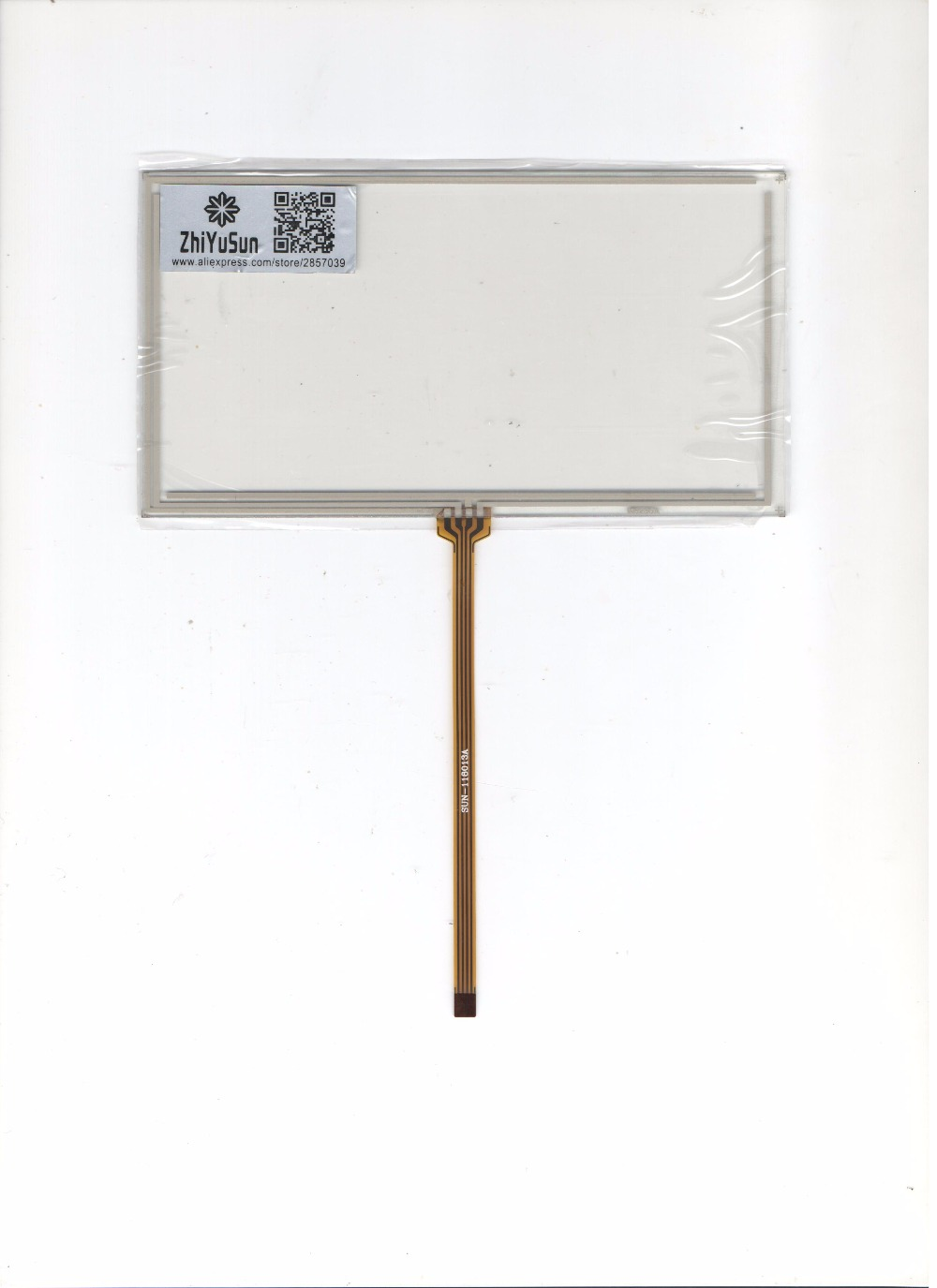 Pour JVC KW-AV51 compatible résistif écran tactile manuscrite livraison gratuite 6 pouce GPS véhicule-monté navigation