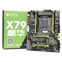 HUANANZHI X79 LGA2011 DDR3 PC настольные компьютеры LGA 2011 компьютерные материнские платы подходят для сервера ECC REG ram