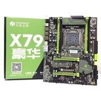 HUANANZHI X79 LGA2011 DDR3 настольных ПК LGA 2011 компьютерные материнские платы подходит для сервера ECC память ECC REG Оперативная память