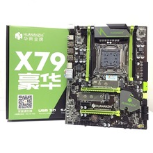 HUANANZHI X79 LGA2011 DDR3 komputery stacjonarne LGA 2011 płyty główne komputera nadaje się do serwera ECC ECC REG RAM