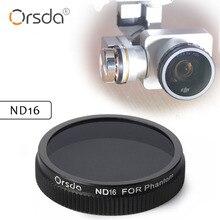 Orsda ND16 Lens Filter for DJI phantom 4 phantom 3 for Gimbal Camera Ultraviolet Filter UAV Quadcopter drone parts accessories