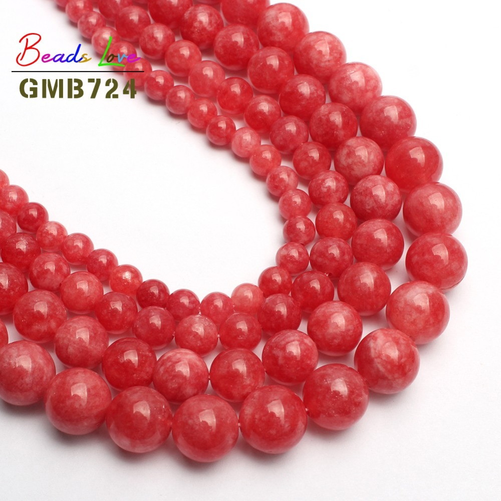 Cheap Price Natural Stone Pink Hematite Round Beads For Jewelry Making Choker Making Diy Bracelet Necklace Jewellery 2 3 4 6 8 10mm 15inches Beads & Jewelry Making Jewelry & Accessories