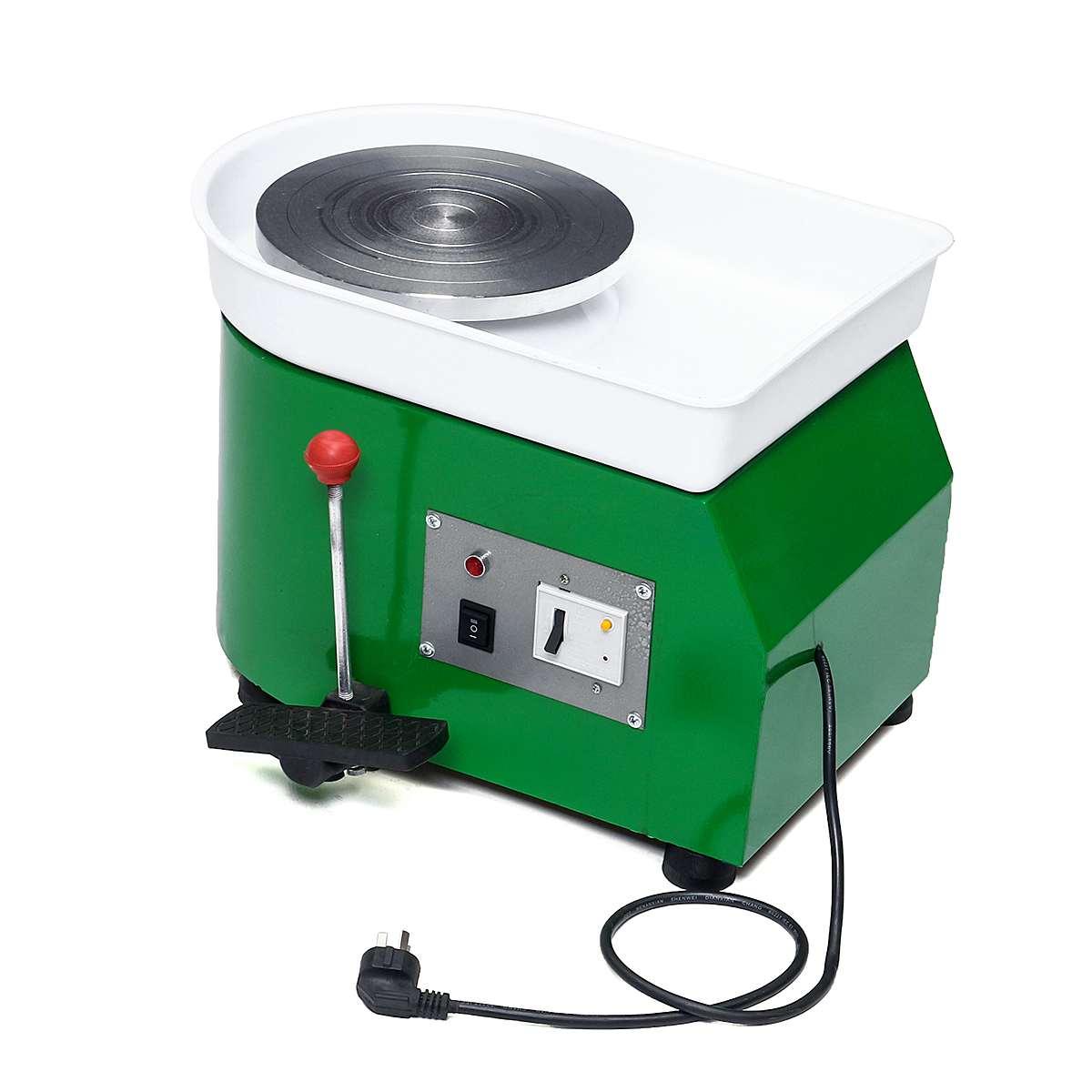 220 V 250 W 250mm tournant la roue de poterie électrique en céramique Machine en céramique argile potier Kit pour céramique de travail en céramique - 2