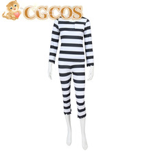 CGCOS Express! Nanbaka Detentionhouse Jyugo 15 Prison Uniform Anime Cosplay Costume Custom-made Halloween Game Cos Party
