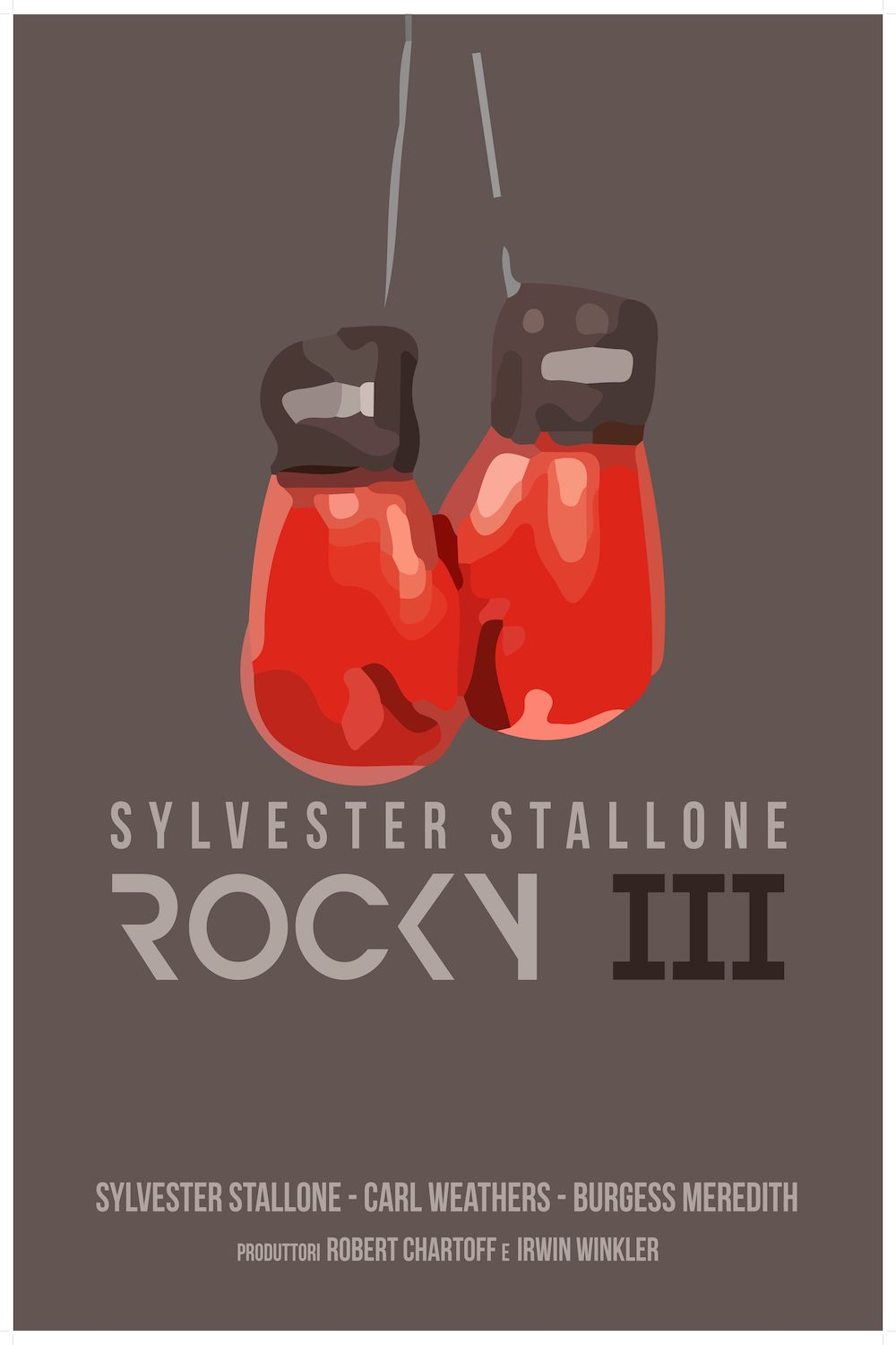 Custom Canvas Mural Rocky Poster Sylvester Stallone Rocky Boxing Movie Wall Stickers Bedroom Decoration Office Decor Gift #678# image