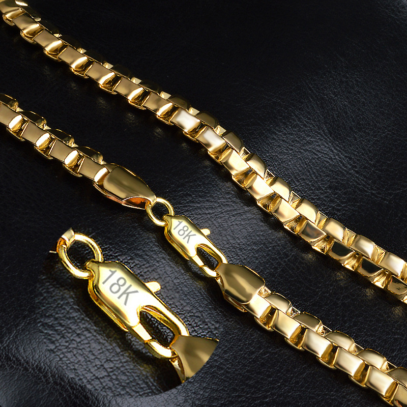 perfect gold group alibaba chains wheat necklaces jewelry new necklace aliexpress yellow in item accessories from com pure on chain