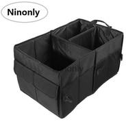 Black Folding Storage Box Bag Waterproof Trunk Stora Car Storage Box Case Multifunction Trunk Bags Container