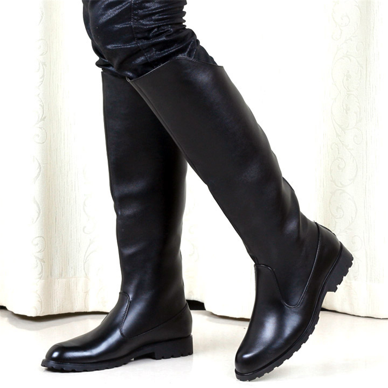 Compare Prices on Men Knee High Leather Boots- Online Shopping/Buy ...