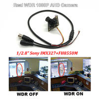 HD 1080P AHD Color CCTV Starlight Surveillance Camera Module Sony327+8550M Real WDR Super Wide Dynamic Home Video Camera Board
