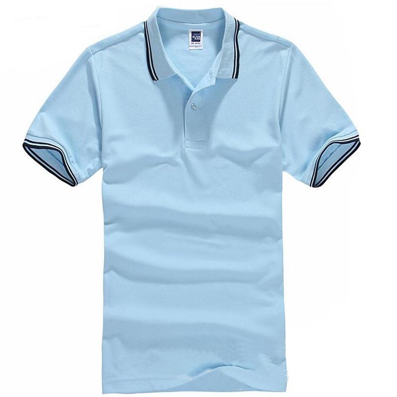 Markenkleidung Polo-Shirt Solide Casual Polo Homme Für Männer - Herrenbekleidung - Foto 5