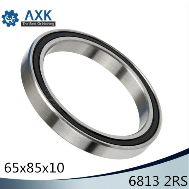 6813 2RS ABEC-1 (4PCS)  65x85x10MM  Metric Thin Section Bearings 61813RS 6813RS6813 2RS ABEC-1 (4PCS)  65x85x10MM  Metric Thin Section Bearings 61813RS 6813RS