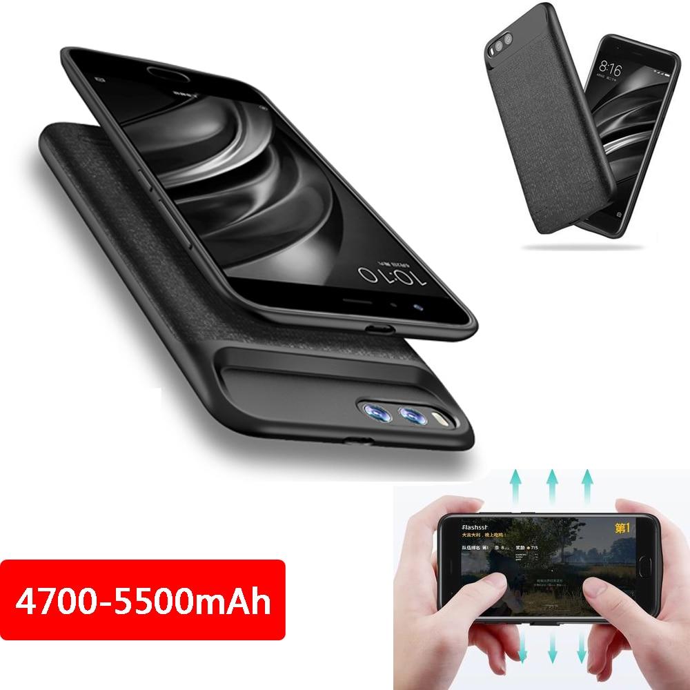 2019 NOUVEAU 4200 mAh batterie externe Chargeur Portable Batterie De Secours Protéger housse de téléphone Pour Xiaomi Mi6 6X8 8SE MIX2 MIX2S
