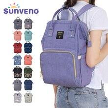 Sunveno Mummy Maternity Diaper Nappy Bag Organize Large Capacity Baby Bag Backpack Nursing Bag for font
