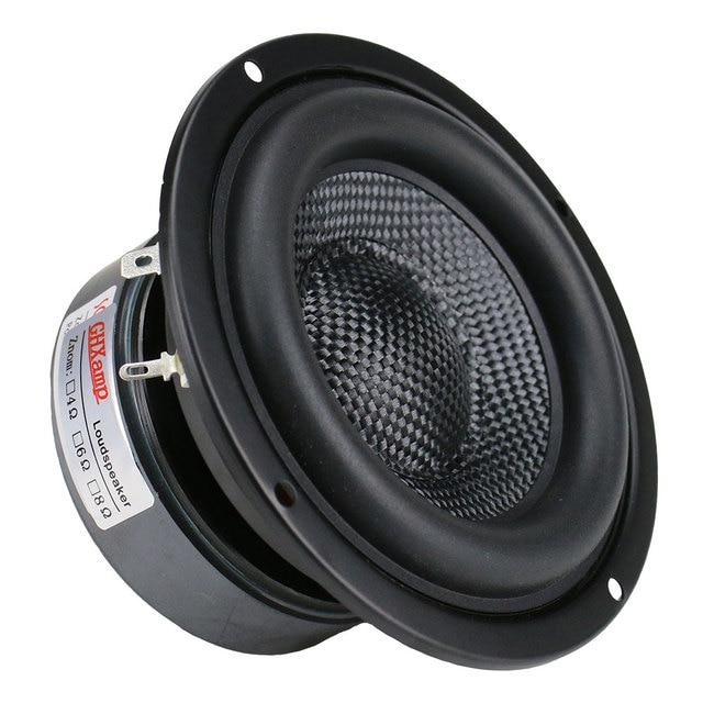 4 Inch Woofer Subwoofer Speaker Unit HIFI 4ohm 40W 4