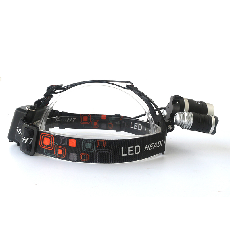 Litwod z35 LED Headlight chip 3XM-L T6 LED Head Lamp 4 Model Led Headlamp portable light for camping hunting with Accessories