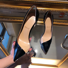 Free shipping fashion women Pumps Nude Transparent stitching point toe high heels party shoes bride wedding shoes elegant women s shoes and bag set free shipping fashion wedding pumps shoes italian shoes with matching bags for party gf27
