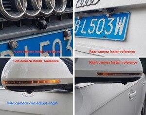 Image 4 - SZDALOS système de vue doiseau HD, 3D 360, Surround View, multi angles réglables, caméra de voiture en métal, capteur DVR G 1080P