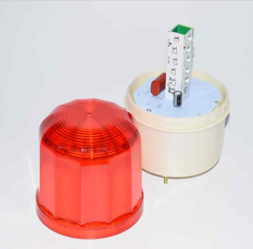 LPSECURITY Напольный СВЕТОДИОДНЫЙ мигающая лампа сигнальная лампа мигающий стробоскоп для качания Раздвижные Гаражные ворота открывалка двигателя (без звука)