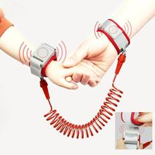 New Upgrade 2m Anti Lost Wrist Link With Key Lock Toddler Leash Safety Harness Baby Strap Rope Children Walking Hand Belt Band