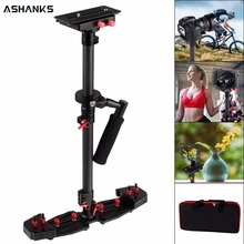 ASHANKS 80cm/31.5'' Camera Stabilizer Carbon Steadycam HD2000 Handheld Steadicam for Photography Dslr Video 7kg with Carry Bag