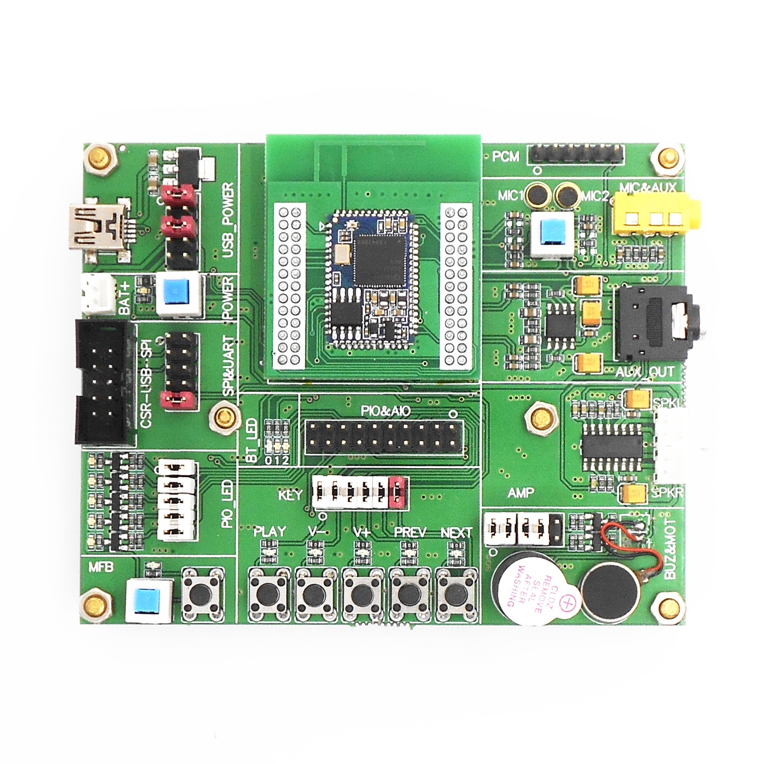 QCC3008 development board development data debug board demo board simulation board Bluetooth 5 0 demo