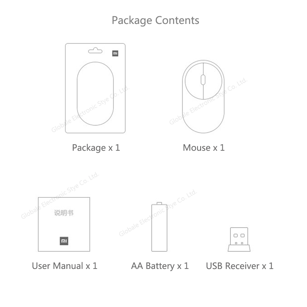 Buy Xiaomi Wireless Mouse Youth Version 1200dpi 24 Computer Diagram 24ghz Optical For Office From Reliable Mice Suppliers On Globale Electronic