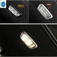 Yimaautotrims Auto Accessory Rear Trunk Tail Boot Roof Reading Lamp Lights Cover Trim Fit For Mercedes Benz GLC X253 2016 - 2019