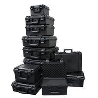 Abs 플라스틱 상자 하드웨어 도구 상자 다목적 안전 악기 상자 방수 지진 방지 내마 모성 야외 상자