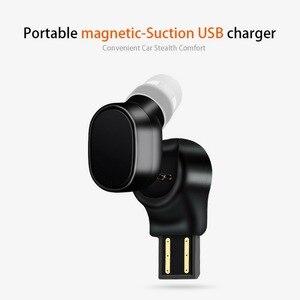 Image 3 - KEBIDU X12 Bluetooth casque mini sans fil écouteur Portable USB magnétique charge casque Sport oreillette casque pour iPhone 8X7
