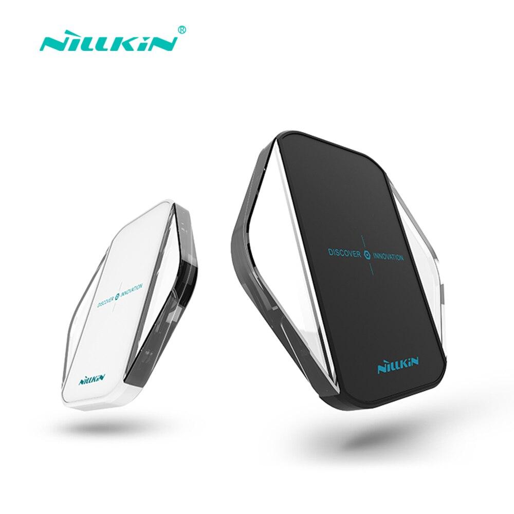 Цена за Nillkin оригинальный ци беспроводное зарядное устройство зарядки подставка для samsung galaxy s5 s6 s7 s8 s8 плюс/google телефон зарядное устройство nexus 5x примечание 3 5