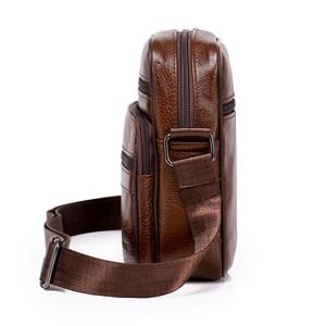 Image 4 - Genuine Leather Crossbody Men Messenger Bag Hot Sale Male Small Man Flap Fashion Shoulder Bags Mens Travel New Handbags ZZICK