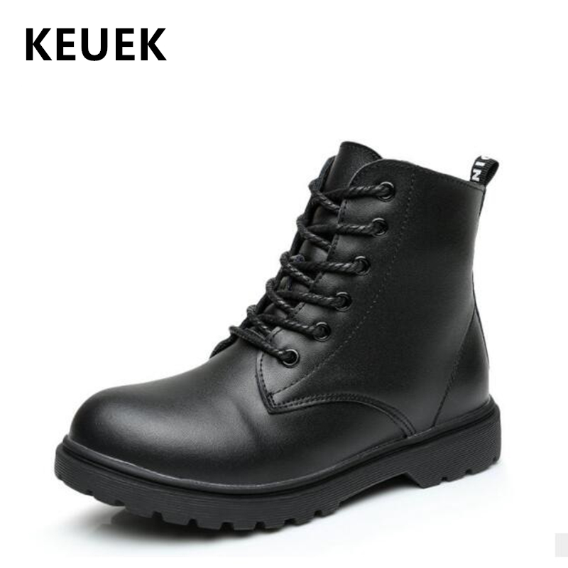 NEW 2020 Spring Children Leather Ankle boots Genuine leather Motorcycle boots Boys Girls shoes Winter Kids Snow boots 04|Boots| |  - title=